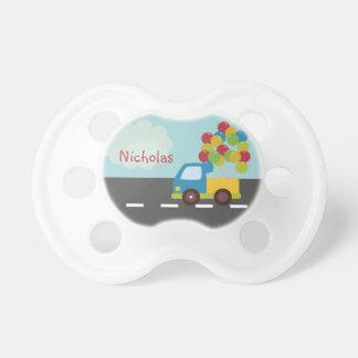LKW-Transport-Ballon-personalisierter Schnuller