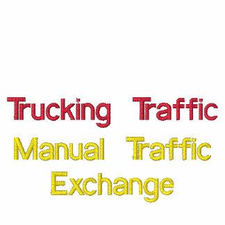 LKW-Transport Verkehrs-gesticktes Polo-Shirt