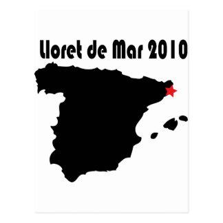 Lloret De en mars 2010 Cartes Postales