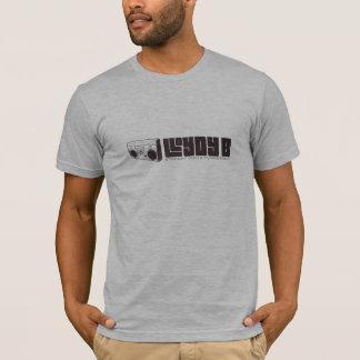 Lloydy B (JUNGE) - Heide-Grau T-Shirt
