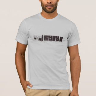 Lloydy B (JUNGE) - Silber T-Shirt