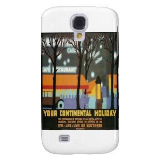 LMS kontinentales Feiertags-Plakat Galaxy S4 Hülle