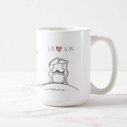 LN Herz Aw Kaffeetasse