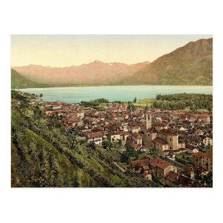 Locarno, allgemeine Ansicht, Tessin, die Schweiz Postkarte