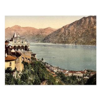 Locarno, Madonna Del Sasso, Tessin, die Schweiz VI Postkarte