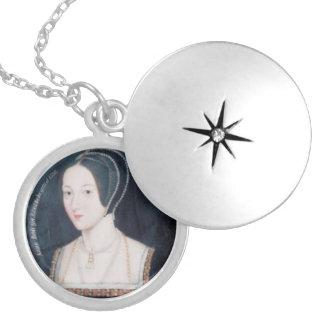 Locket mit Anne- Boleynporträt Anhänger