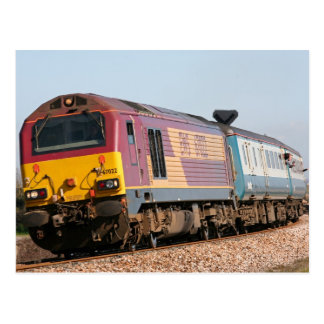 Loco 67022 Diesel der Klasse 67 bei Dawlish Waren Postkarte