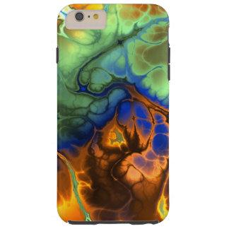 Lodernde Fraktal iPhone 6 Plusfall Tough iPhone 6 Plus Hülle