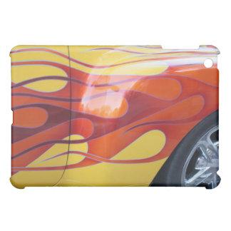 Lodernde heiße Auto-Farbe iPad Haut iPad Mini Hülle