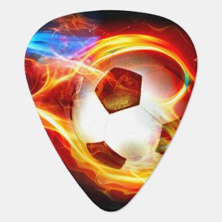 Loderndes Fußball-Ball-Plektrum Plektrum