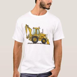 Löffelbagger-Baggerlader-Bau-Kleid T-Shirt