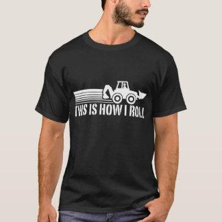 Löffelbagger-Betreiber T-Shirt