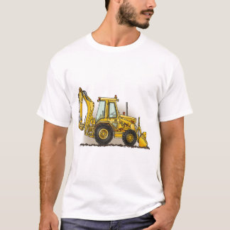 Löffelbagger-Damen-T - Shirt