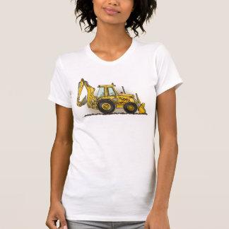 Löffelbagger-Damen-Trägershirt T-Shirt