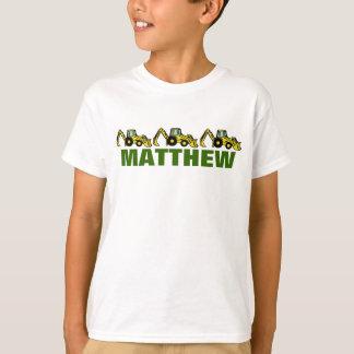 Löffelbagger für Matthew T-Shirt