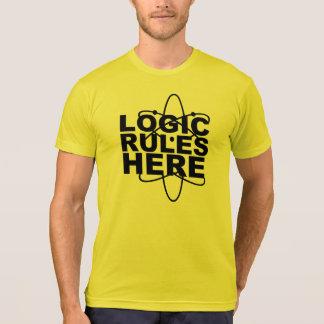 LOGIK-REGELN HIER Wissenschaft inspirierte EE T-Shirt