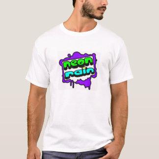 Logo au néon de pluie t-shirt