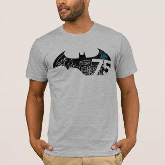 Logo Batmans 75 - Tafel T-Shirt