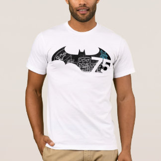 Logo de Batman 75 - tableau T-shirt