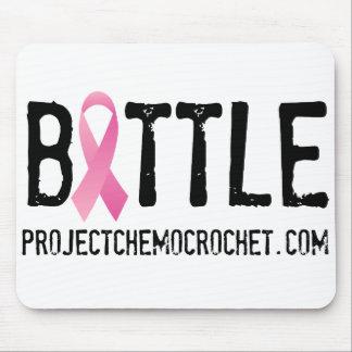 Logo de cancer du sein de BATAILLE de Pink Tapis De Souris