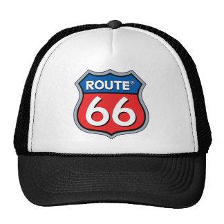 Logo de l'itinéraire 66 casquette de camionneur