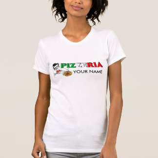 logo de pizzaiolo tshirts