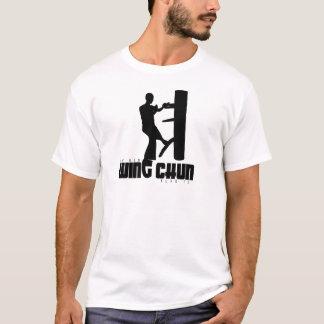 Logo des IP-Man-(hölzerne Attrappe) T-Shirt