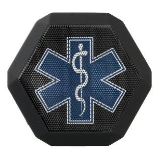 Logo des Sanitäter-EMT EMS Schwarze Bluetooth Lautsprecher