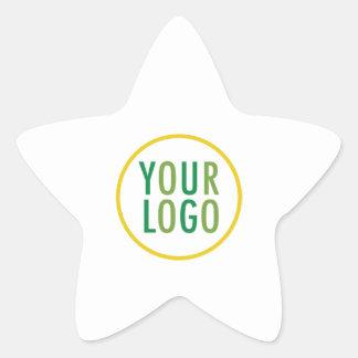 Logo fait sur commande d'affaires d'autocollants sticker étoile