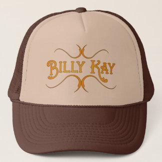 Logo-Fernlastfahrer-Hüte Billys Kay gelbe Truckerkappe
