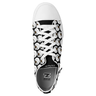 Logo-Fuß-Abnutzung OSs mit Absicht Niedrig-geschnittene Sneaker