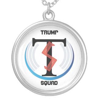 Logo-Halskette der Trumpf-Gruppen-Alt Halskette Mit Rundem Anhänger