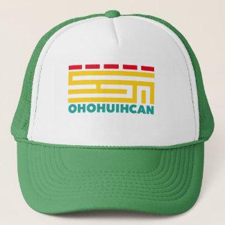 Logo Hat Green Truckerkappe