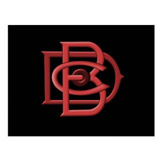 Logo-Postkarte Dunham Bros Company DBC Postkarte