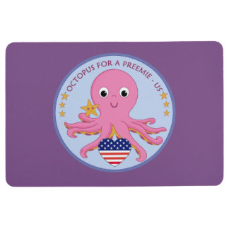 Logo-rutschfeste Schaum-Matten-Krake für ein Bodenmatte