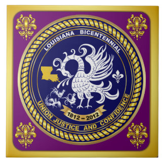 Logo-sehen zweihundertjähriges Karneval-Party Anme Keramikfliesen