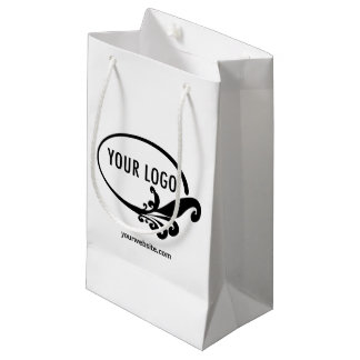 Logo Small Gift Bag Custom Company fördernd