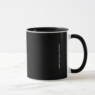 Logo Toastie schwarze Tasse