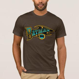 Logo vintage de turquoise de Batman | T-shirt