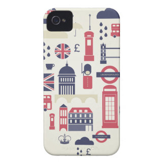 London am Herzen iPhone 4 Case-Mate Hülle