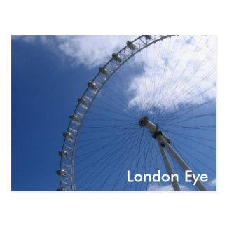 London-Augen-Postkarte