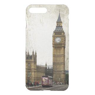London Big Ben und Bus iPhone 8 Plus/7 Plus Hülle