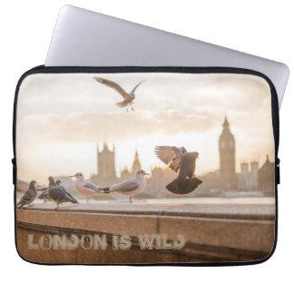 London ist wilder Laptopkasten Laptop Schutzhüllen