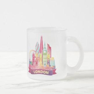 London - Reise zu den berühmten Sehenswürdigkeiten Matte Glastasse