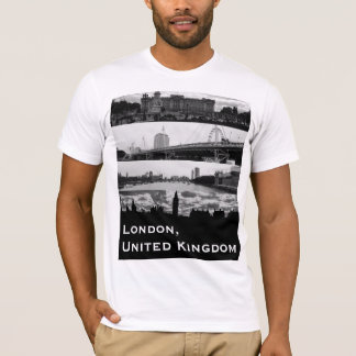 London-Sehenswürdigkeit-Collagen-Shirt T-Shirt