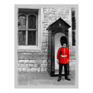 London-Soldat-Parade Postkarte