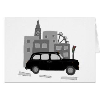 London-Taxi-Szene Karte