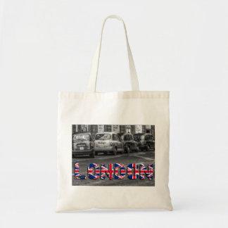 London Taxi Tragetasche Jutetasche Einkaufstasche