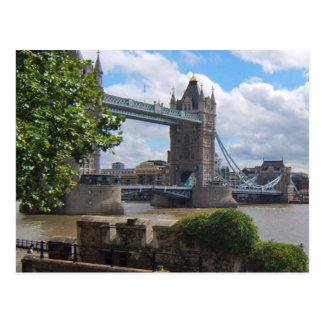 London-Turm-Brücken-Postkarte Postkarte