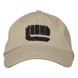 London-Untergrund-Logo (Schwarzes) Bestickte Baseballkappe